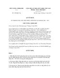Quyết định số 1790/QĐ-TTg