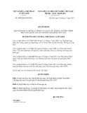 Quyết định số 4490/QĐ-BVHTTDL