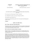 Nghị quyết số 92/2012/NĐ-CP