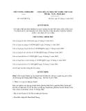Quyết định số 1647/QĐ-TTg