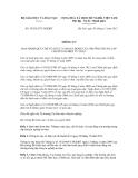 Thông tư số 39/2012/TT-BGDĐT