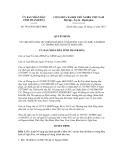Quyết định số 3834/2012/QĐ-UBND
