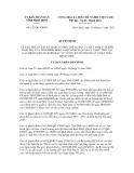 Quyết định số 623/QĐ-UBND