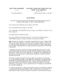 Quyết định số 48/2012/QĐ-TTg