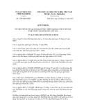 Quyết định số 2783/QĐ-UBND