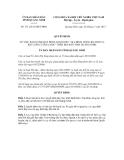 Quyết định số 3111/2012/QĐ-UBND
