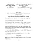 Quyết định số 5852/QĐ-UBND