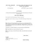 Quyết định số 1704/QĐ-TTg