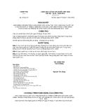 Nghị quyết số 70/NQ-CP