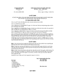 Quyết định số 24/2012/QĐ-UBND