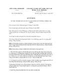 Quyết định số 47/2012/QĐ-TTg
