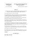 Thông tư số 17/2012/TT-BTTTT