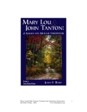 Mary Lou and John Tanton - A Journey into American Conservation