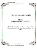 Luận văn:  Một số giải pháp nhằm đẩy mạnh công tác phát hành và thanh toán thẻ tại Ngân hàng Ngoại thương Việt Nam