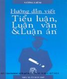 Ebook Hướng dẫn viết Tiểu luận, Luận văn và Luận án - Vương Liêm