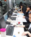 Bài tập tham khảo kế toán ngân hàng