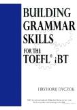 Buiding grammar skills fot  the TOEFL IBT