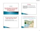 Khả năng chuyển hóa của chất photpho trong môi trường tự nhiên