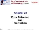 Chương 10: Error Detection and Correction