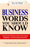 BUSINESS WORDS YOU SHOULD BUSINESS KNOW