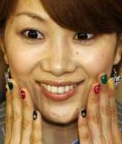 Nghệ thuật vẽ nail ấn tượng tại Olympic 2012