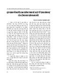 """Báo cáo """"    Quy định về người làm chứng theo Bộ luật tố tụng hình sự của Cộng hoà liên bang Đức """""""