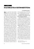 """Báo cáo """" Đào tạo cử nhân luật ở Thái Lan và một số kinh nghiệm đối với Việt Nam """""""