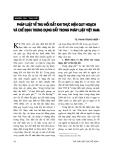 """Báo cáo """" Pháp luật về thu hồi đất khi thực hiện quy hoạch và chế định trưng dụng đất trong pháp luật Việt Nam """""""