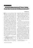 Báo cáo : Vấn đề sửa đổi khái niệm mua bán hàng hoá quốc tế trong luật thương mại để gia nhập Công ước của Liên hợp quốc về hợp đồng mua bán hàng hoá quốc t
