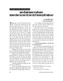 """Báo cáo """" Bàn về khó khăn và đối sách trong công tác bảo vệ văn vật ở Trung Quốc hiện nay """""""