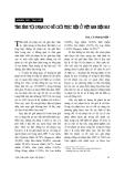 """Báo cáo """"Tình hình tội phạm do nữ giới thực hiện ở Việt Nam hiện nay """""""