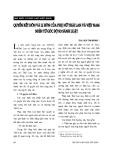"""Báo cáo """"Quyền kết hôn và li hôn của phụ nữ Thái Lan và Việt Nam nhìn từ góc độ so sánh luật """""""