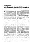 """Báo cáo """" Vai trò của thực hiện pháp luật về dân chủ cở sở ở nước ta hiện nay """""""