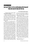 """Báo cáo """" Pháp luật về trình tự, thủ tục chuyển quyền sử dụng đất trong kinh doanh bất động sản ở Việt Nam"""""""