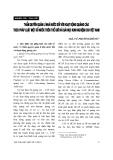 """Báo cáo """" Thẩm quyền quản lí nhà nước đối với hoạt động quảng cáo theo pháp luật một số nước trên thế giới và bài học kinh nghiệm cho Việt Nam """""""