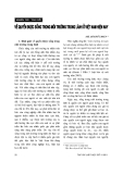 """Báo cáo """" Về quyền được sống trong môi trường trong lành ở Việt Nam hiện nay """""""