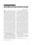 """Báo cáo """" Đối sách chống lại các tội phạm xuyên quốc gia ở Trung Quốc """""""