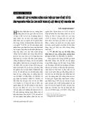 """Báo cáo """" Những bất cập và phương hướng hoàn thiện quy định về một số tội xâm phạm nhân phẩm của con người trong Bộ luật hình sự Việt Nam năm 1999 """""""