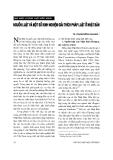 """Báo cáo """" Nguồn luật và một số kinh nghiệm giải thích pháp luật ở Nhật Bản """""""