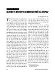 """Báo cáo """" Quan niệm về hiến pháp và xu hướng phát triển của hiến pháp """""""