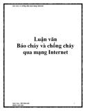 Luận văn Báo cháy và chống cháy qua mạng Internet