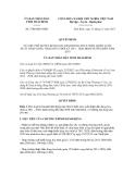 Quyết định số 2700/QĐ-UBND