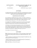 Quyết định số 6846/QĐ-BCT
