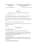 Thông tư số 09/2012/TT-BVHTTDL