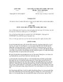 Nghị quyết số  40/2012/QH13