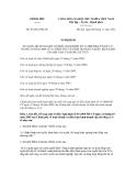 Nghị định số 93/2012/NĐ-CP
