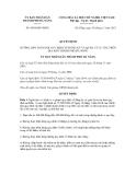 Quyết định số 9930/QĐ-UBND