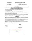 Quyết định số 1477/QĐ-UBND
