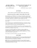 Quyết định số 2871/QĐ-BNN-KHCN