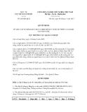 Quyết định số 288/QĐ-QLD